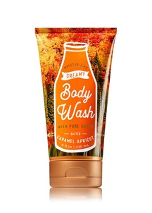 【Bath & Body Works / 秋限定】ソルテッド キャラメル アプリコットの香り クリーミー ボディウォッシュ
