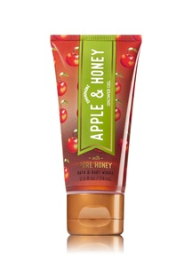 【Bath & Body Works / 秋限定】シャンパン アップル&ハニーの香り  トラベルサイズ シャワージェル