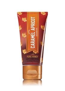 【Bath & Body Works / 秋限定】ソルテッド キャラメル アプリコットの香り  トラベルサイズ シャワージェル