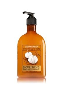 【Bath & Body Works / 秋限定】ホワイト パンプキン ペッパーコーンの香り ハンドソープ