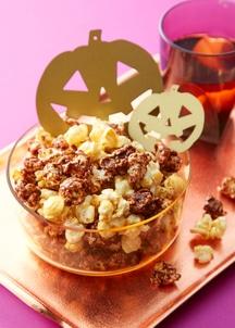 【ハロウィン限定ポップコーン】 パンプキンカステラ&ショコラ味 2本セット