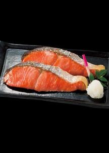 〈日本の極み〉築地仕込の紅鮭(7切)