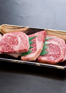 【格之進】門崎熟成肉 特選ロース ステーキ