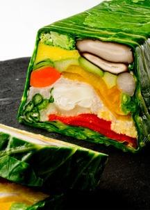 野菜と魚介のテリーヌセット(テリーヌ5枚・ソース4個)