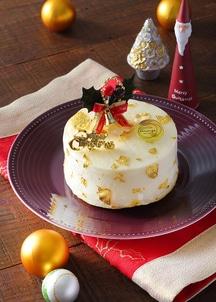 【オンワード・マルシェ クリスマス限定30台】シャンパン アイスケーキ