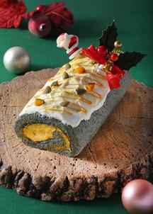 【クリスマス限定30台】カボチャとキャラメルのロールケーキ