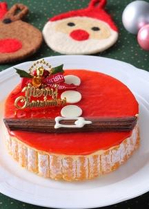 【クリスマス限定】梅月堂 X'masサンタのムース