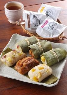 【オンワード・マルシェ限定】笹ちまき(豚角煮・さつまいも・栗)3種12個入り