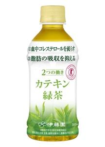 PETカテキン緑茶350ml(1本あたり108円)
