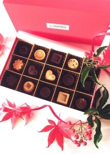 オーガニックチョコ100%使用ミニビター・ホワイトチョコ&生チョコセット
