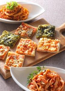 手づくりタリアテッレ&天然酵母ピザセット(パスタ2食、ピザ5食入)