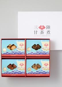 三陸甘茶煮 宝船 4種セット