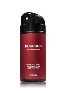 【Bath & Body Works】バーボン デオドライジング ボディスプレー/メンズ