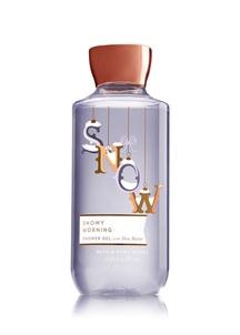 【Bath & Body Works / 冬限定】スノーイ モーニング シャワージェル