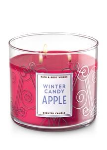 【Bath & Body Works / 冬限定】ウィンター キャンディ アップル キャンドル