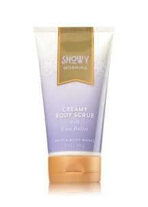 【Bath & Body Works / 冬限定】スノーイ モーニング  ボディスクラブ