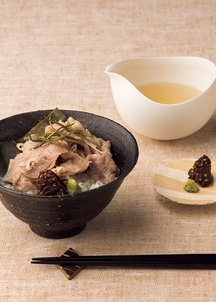 〈日本の極み〉〈京都岩さき〉京都牛の昆布〆だし茶漬け