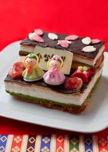 【オンワード・マルシェ限定】お雛様ケーキ