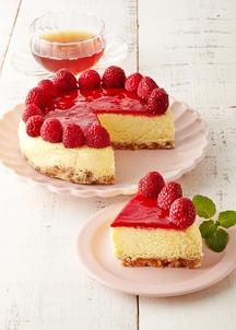 【春限定】ラズベリーチーズケーキ