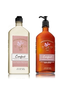 【Bath & Body Works】Be Comfortable ボディケア2点セット