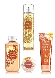 【Bath & Body Works】ボディケア4点セット ウォームバニラシュガーの香り