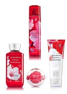 【Bath & Body Works】ボディケア4点セット ジャパニーズチェリーブロッサムの香り