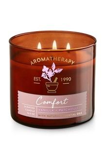 【Bath & Body Works】バニラ パチョリの香り キャンドル