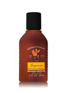 【Bath & Body Works】ベルガモットマンダリンの香り トラベルサイズ ボディローション