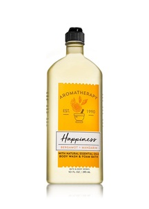 【Bath & Body Works】ベルガモットマンダリンの香り ボディウォッシュ