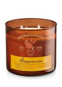 【Bath & Body Works】ベルガモットマンダリンの香り キャンドル