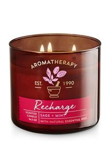 【Bath & Body Works】セージ ミントの香り キャンドル