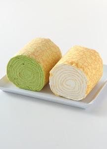 ミルクレープロールセット(抹茶&プレーン)