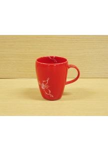 【有田焼】ローズ(赤)・マグカップ