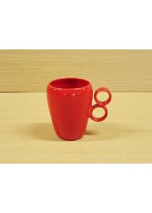 【有田焼】ダブルリング(赤)・マグカップ