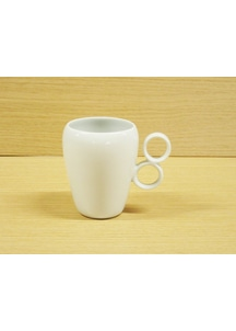【有田焼】ダブルリング(白)・マグカップ
