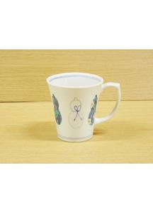 【伊万里焼】ひょうたん(青)・マグカップ