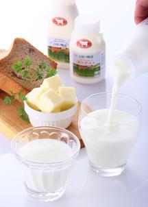 ジャージー彩りセット(牛乳4本・ヨーグルト4本・無塩バター1本)