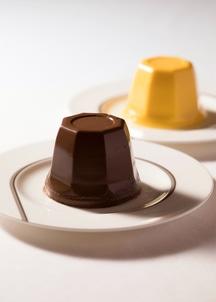 2種のプリン詰め合わせ 6個入り(マンゴー4個チョコレートブランデー2個)