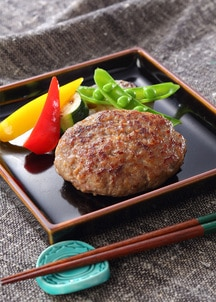 鳥取和牛×大山豚手造りハンバーグ