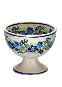 【セラミカ】ピエニブルー アイスクリームカップ(11cm)