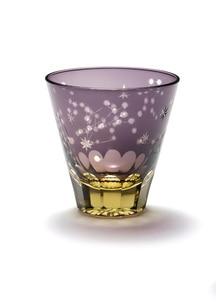 中金硝子 ほしめぐり(紫/ゴールド)
