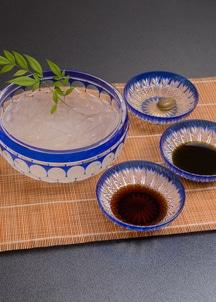 【下鴨茶寮】〈夏季限定〉花葛きり (6個入り・3種の蜜付)