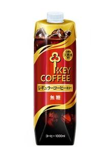 【キーコーヒー】リキッドコーヒー無糖1000ml 6本セット
