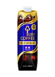 【キーコーヒー】リキッドコーヒー微糖1000ml 6本セット