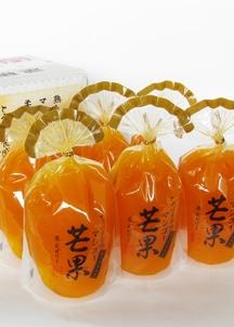 【サンヨー】果実ゼリー マンゴー 6個入