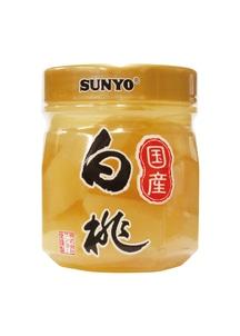 【サンヨー】プラボトル 国産白桃 6個入