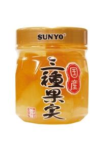 【サンヨー】プラボトル 国産三種果実 6個入