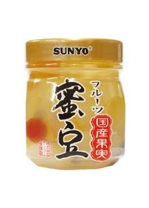 【サンヨー】プラボトル 国産果実密豆 6個入