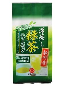 【お茶の丸幸】静岡産深蒸し緑茶ティーバッグ 30p入×10袋