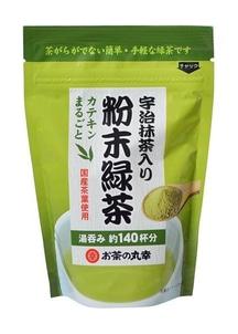 【お茶の丸幸】宇治抹茶入り粉末緑茶 30p入×10袋